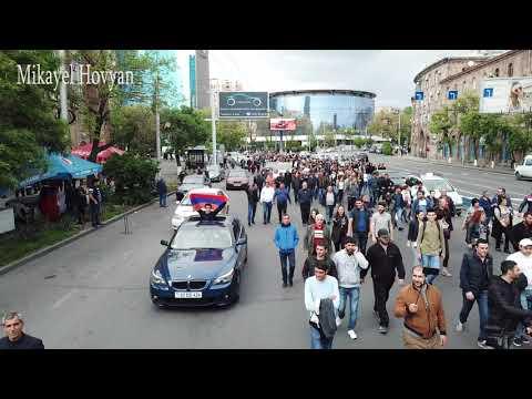 Yerevan 22.04.2018 ( Video By Mikayel Hovyan 4k )