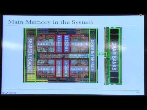 Lecture 21: Main Memory and the DRAM System - Carnegie Mellon - Comp. Arch. 2015 - Onur Mutlu