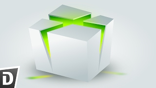 X Box Cube - Inkscape Tutorial