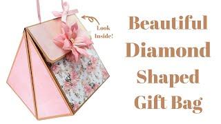 2 Pieces Diamond Gift Bag