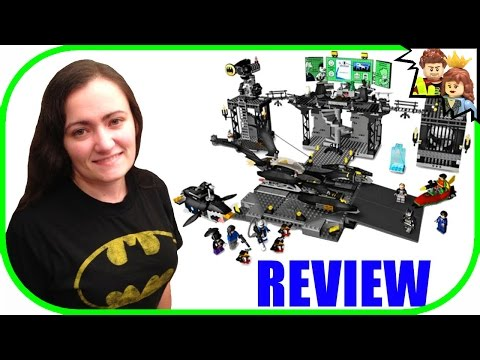 LEGO BATMAN The Batcave: The Penguin and Mr. Freeze's Invasion 7783 Review