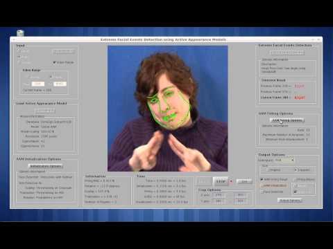 Face Modelling Matlab GUI: Active Appearance Models