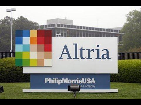 Altria Group als Konsumwert in das Aktiendepot 7. Aktie