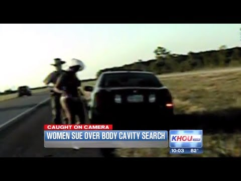 Police Search Women In Bikini