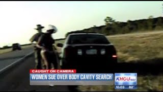 Police Search Women In Bikini's | Full Body Cavity Searches On Side Of Highway | Up My Private Parts