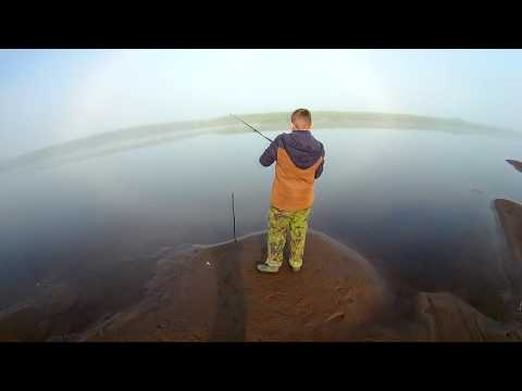 рыбалка на Сысоле с сыном Денисом