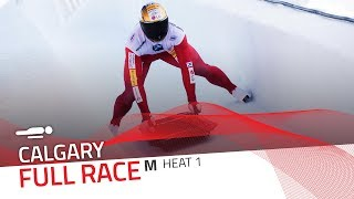 Calgary | BMW IBSF World Cup 2018/2019 - Men's Skeleton Heat 1 | IBSF Official