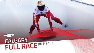 Calgary | BMW IBSF World Cup 2018/2019 - Men's Skeleton Heat 1 | IBSF Official