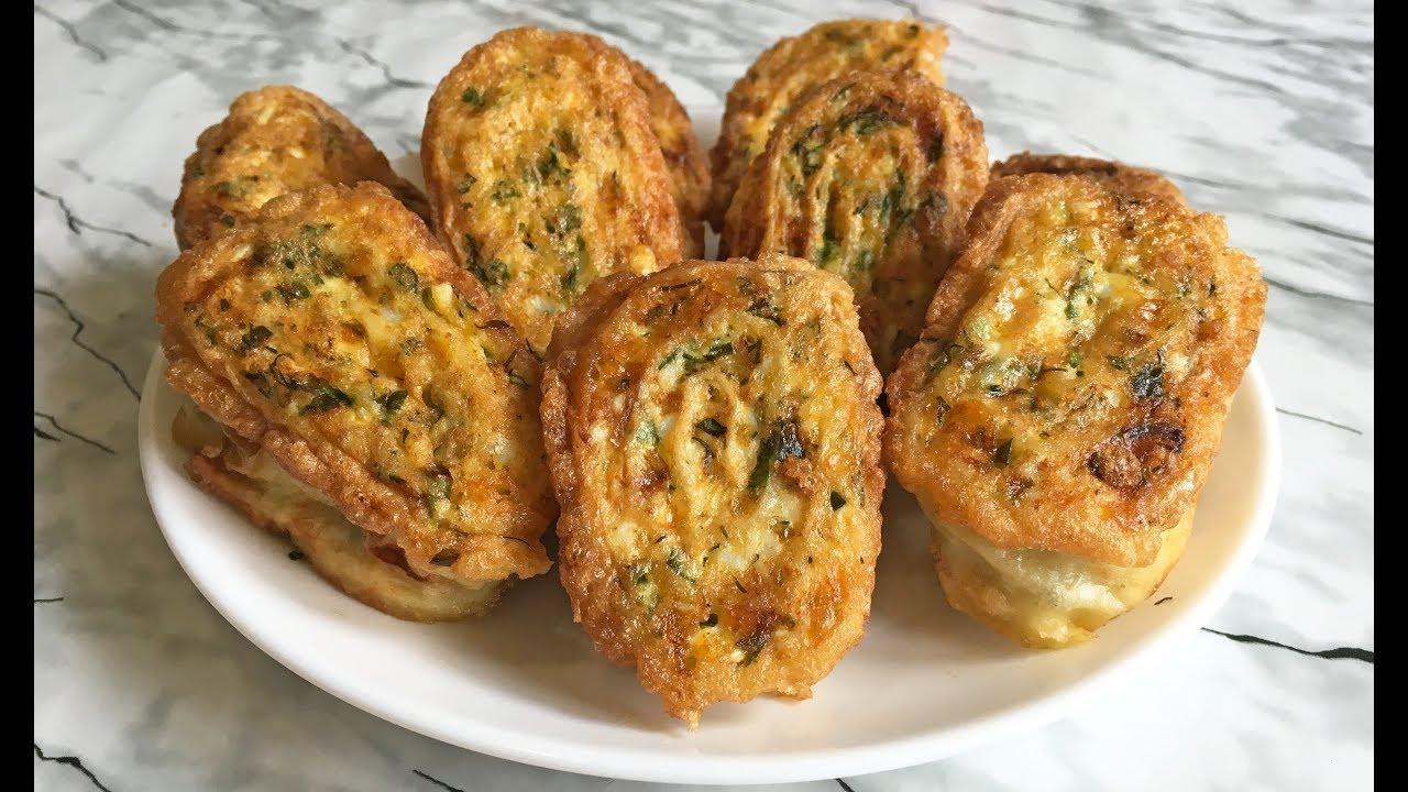 Невероятные ЖАРЕНЫЕ РУЛЕТИКИ ИЗ ЛАВАША Обязательно Попробуйте!!! / Pita Bread Rolls