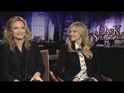 Dark Shadows: Michelle Pfeiffer and Chloë Moretz on filming Dark Shadows