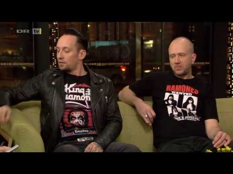 Volbeat interview on Aftenshowet - DR, 2017-02-15.