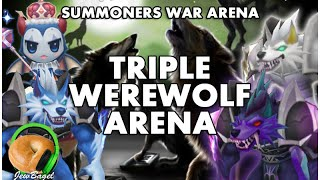 summoners war arena triple werewolf team vigor eshir jultan orion