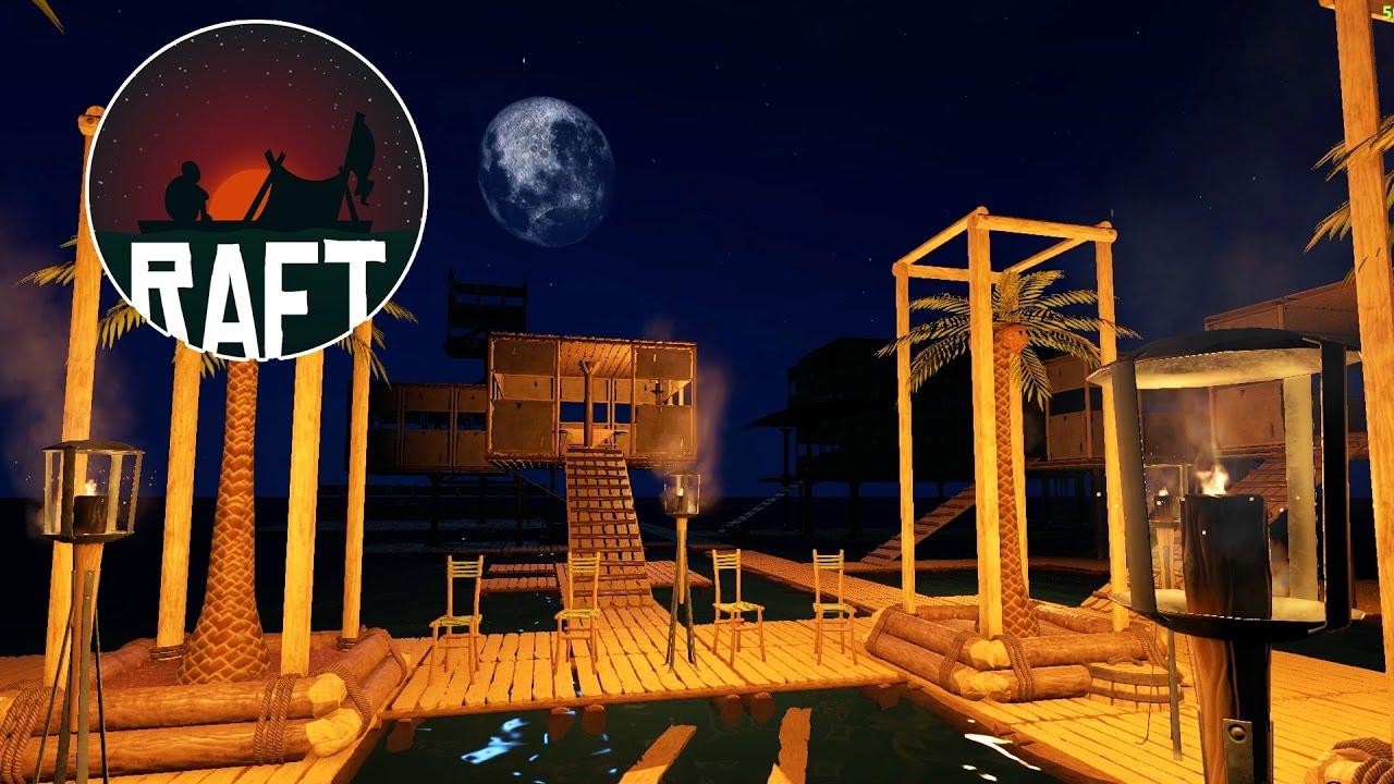 Raft Game - Gameplay