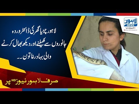 Dr. Warda from Lahore Zoo-One of strongest Pakistani women