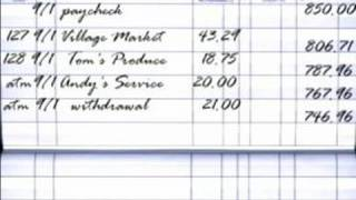 How to Balance a Checkbook : How to Balance an Account Register