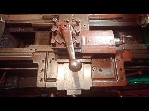 Сборка и регулировка поперечной подачи токарного станка 1а616