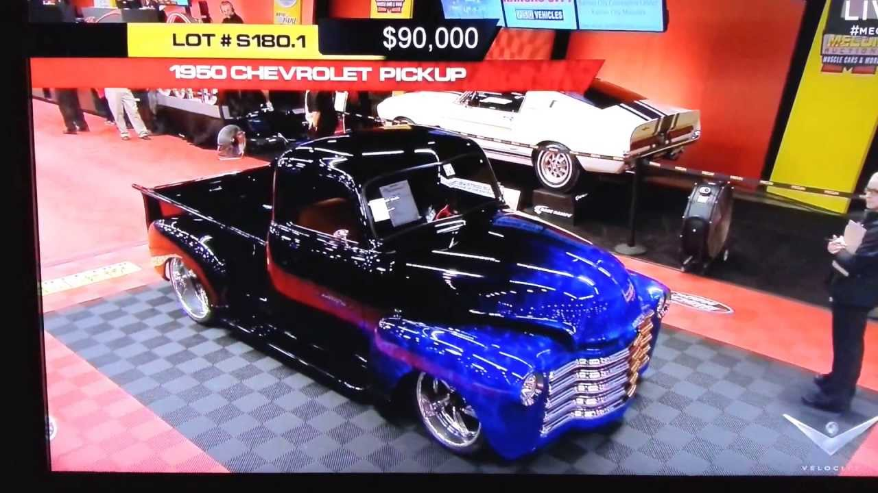 Mecum Auction Houston 2013 1950 Chevy truck by cope design - YouTube