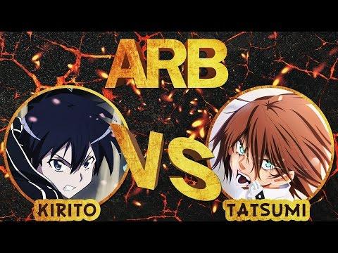 Кирито против Тацуми   Аниме Рэп Батл   6  