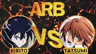 AnimeRapBattle с Подписчиками - Кирито против Тацуми | Kirito vs Tatsumi