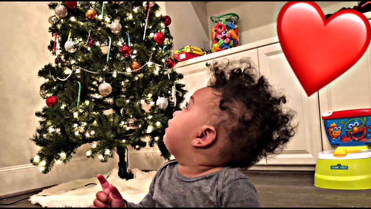 KYRIE'S FIRST CHRISTMAS   VLOGMAS DAY 1
