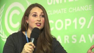 COP19: Rachel Hunter, Communication Manager, Carbon Clear