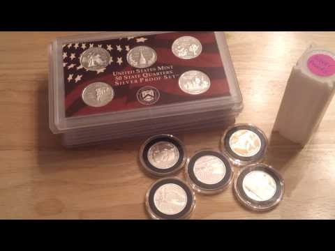 Silver State Quarter Proof Sets