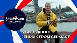 Five Facts About Jendrik - Germany 🇩🇪  - Eurovision 2021