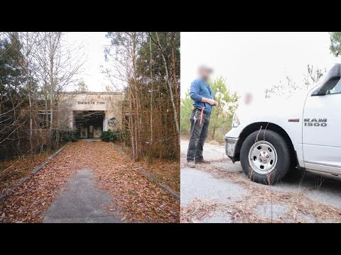 RAW FOOTAGE - Caught By Armed Workers While Exploring Abandoned Prison Complex