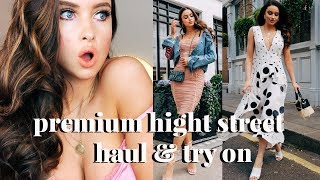 5 OUTFIT PREMIUM HIGH ST HAUL & TRY ON | EMMA MIL...