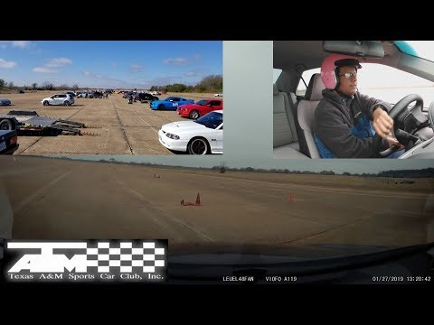 My First Time AutoCrossing! - Texas A&M Sports Car Club (Spring 2019)