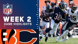 Bengals vs. Bears Week 2 Highlights | NFL 2021
