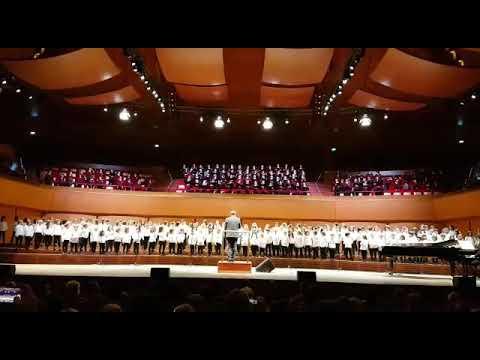 6 - Concerto di Natale 2017  Santa Cecilia- tutti i cori insieme