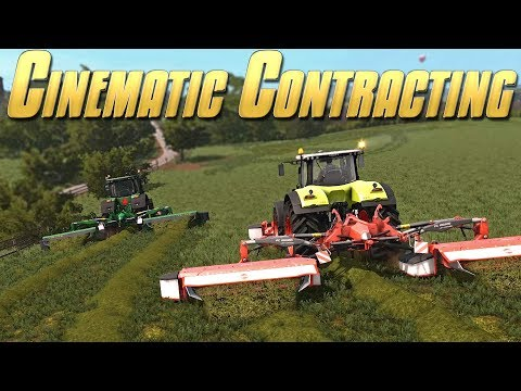 Cinematic Contracting! - Farming Simulator 17 -  Ep.14