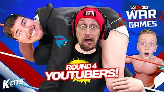 WWE 2k20 WarGames Round 4! (Mr Beast, FGTEEV Duddy!) K-CITY GAMING