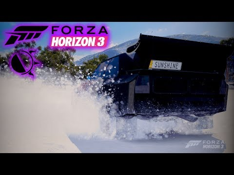 Slaying the Yeti in Forza Horizon 3 LIVE | Rally Monsters on Blizzard Mountain