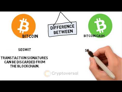 Difference Between Bitcoin (BTC) And Bitcoin Cash (BCH)