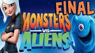 Monsters vs. Aliens - Walkthrough - Final Part 25 - Showdown   Ending (PC) [HD]