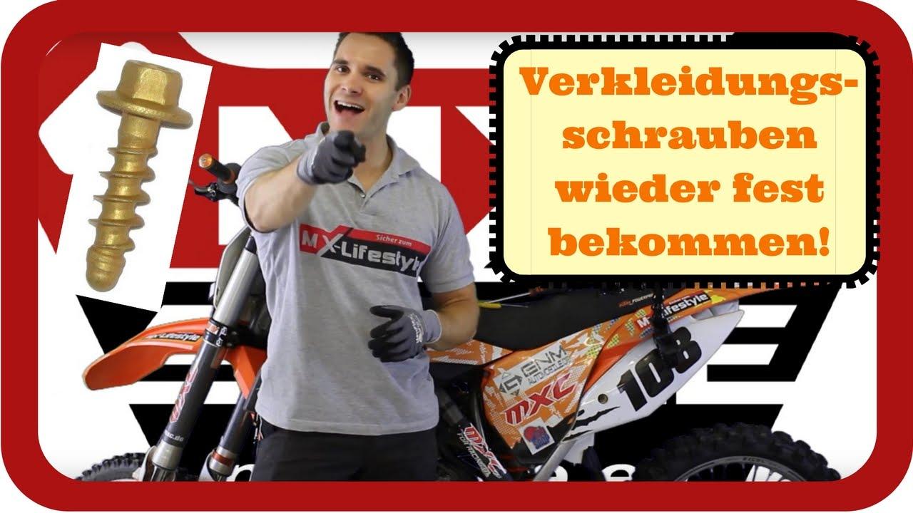 Wie Bekommt Man Motorrad Plastik / Verkleidungsschrauben
