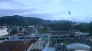 Kota Padang Sebelum Gempa,,Video Dari Lantai IV Plaza Andalas Pukul.16.45 WIB