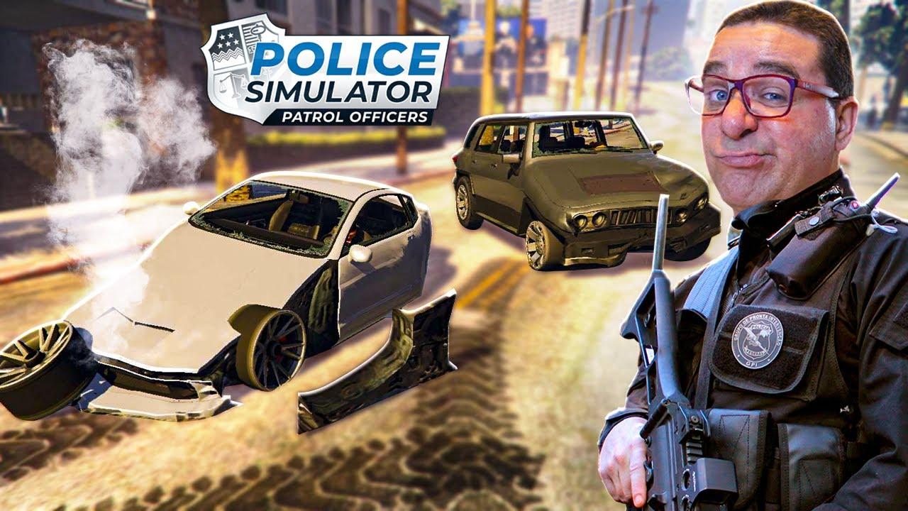 ACIDENTES E MAIS ACIDENTES | POLICE SIMULATOR PATROL OFFICERS #8