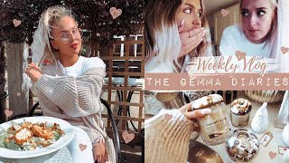 WEEKLY VLOG: Deep Chats, Autumn Hauls, Lunch dates + More | The Gemma Diaries