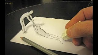 How To Draw Easy 3D Drawing - 3D Drawing - Drawing Step by Step - 3D Models - Easy Drawings