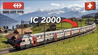 SBB CFF FFS (2ND CLASS) | IC 2000 | Genève Cornavin🇨🇭 - Lausanne🇨🇭