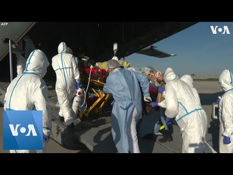 Coronavirus Patients Transferred Via Military Aircraft In France