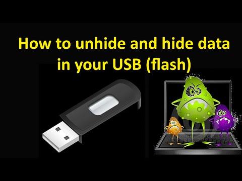 How To Show Data In USB When Virus Hidden