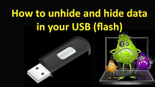 How to show data in USB when virus hidden