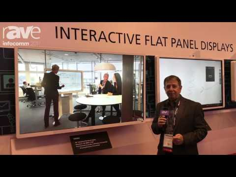 InfoComm 2017: Ricoh Exhibits Interactive Touch Flat Panel Displays