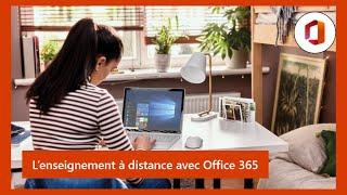 [Webinar] Enseignement à distance avec Office 365 et Microsoft Teams pour l'Education