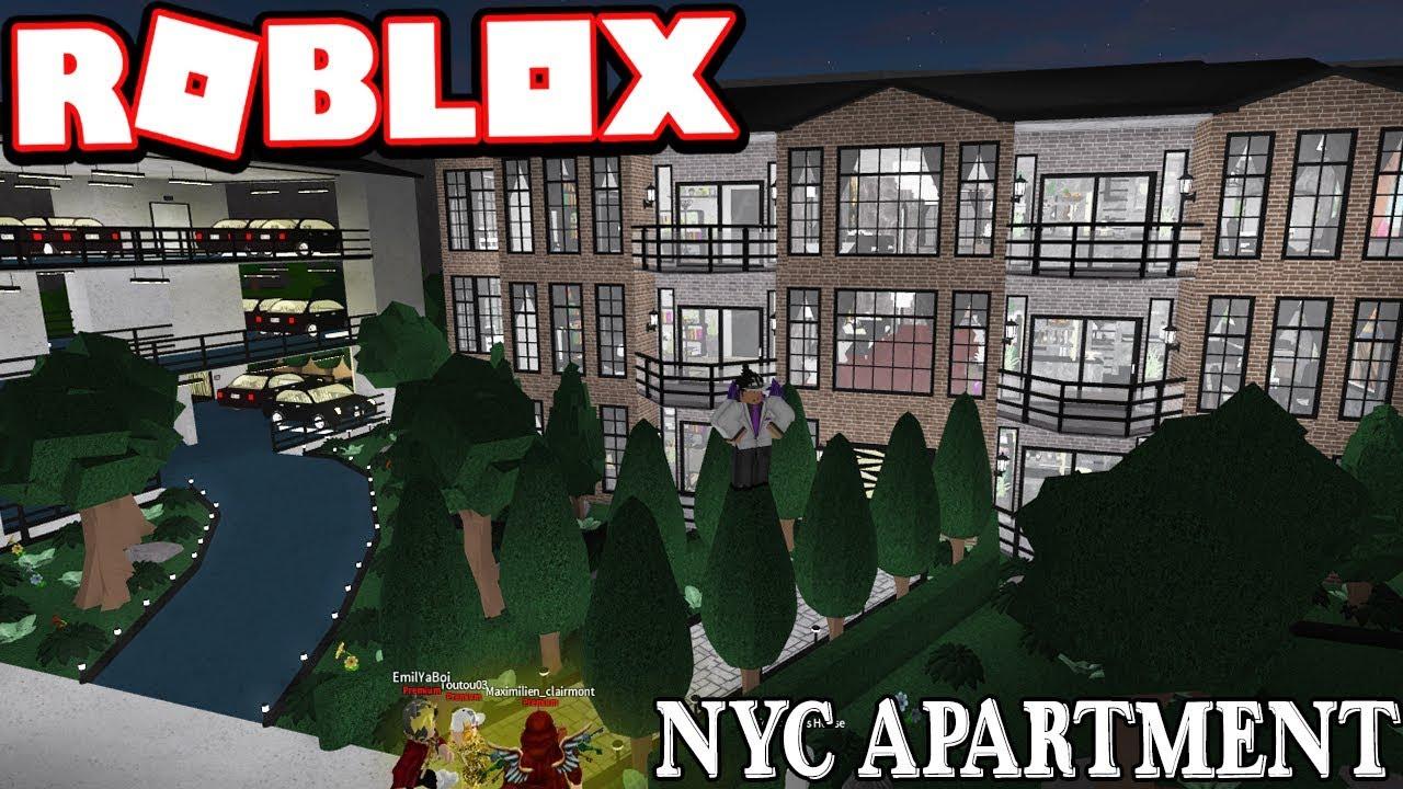 5 million new york city apartment subscriber tours roblox bloxburg youtube. Black Bedroom Furniture Sets. Home Design Ideas