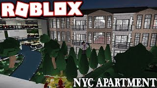 $5+ MILLION NEW YORK CITY APARTMENT!!!   Subscriber Tours (Roblox Bloxburg)